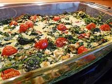 spinat frittata vom blech mit feta k 228 se und tomaten