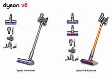 dyson v8 animal and v8 absolute comparison differences