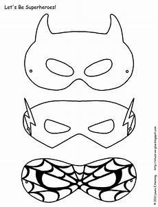 superhelden aktivit 228 ten kostenlose superhelden masken zum