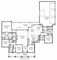 2800 sq ft house plans house plan 40311 southern style with 2800 sq ft 4 bed