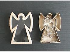 Angel cookie cutters