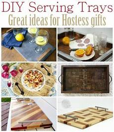 Kitchen Counter Gifts by Diy Serving Tray Great Ideas For Hostess Gifts Sawdust