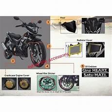 Variasi Honda Sonic by Jual Toko Variasi Motor Aksesoris Cover Radiator