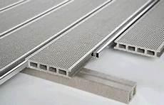 28 X 150 Mm Wpc Terrassendielen Mit Aluschienen F Ein