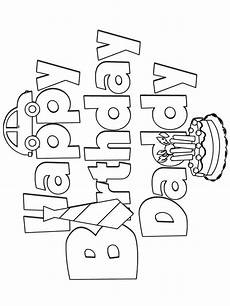 Ausmalbilder Geburtstag Papa Happy Birthday Coloring Pages Free Printable Happy