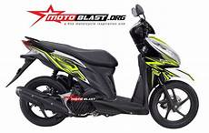 Modifikasi Vario 125 Terbaru by Modifikasi Motor Matic Terbaru Striping Honda Vario 125