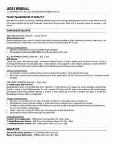 by jobresume resume career termplate free middle