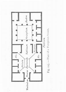 plan of a pompeian house emily evans eerdmans the death of the front door