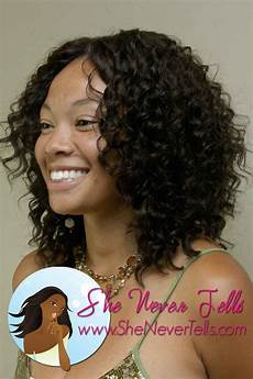 sew in hairstyles for black weave sew in