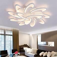 modern acrylic design ceiling lights bedroom living room