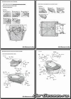 car repair manuals download 1999 acura nsx on board diagnostic system honda nsx acura nsx 2016 2023 body repair manual