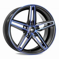 rh alurad dg evolution felgen color polished blue