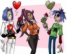 Gambar Animasi Cinta Segitiga Gambar Kartun Lucu Cinta