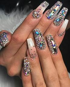 pin by chanel george on nails diamond nail designs