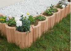 bordure de jardin en beton bordure beton aledecor provence 50 cm