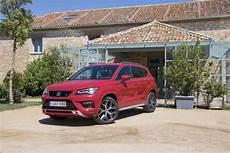 2019 seat ateca fr review efficient family car