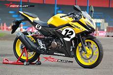 Modifikasi Striping All New Cbr150r by Modifikasi Striping Honda All New Cbr150r Tema Yellow