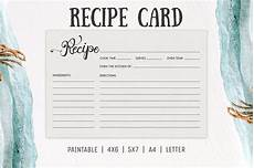 5x7 recipe card template free free cooking recipe card template rc2 creativetacos
