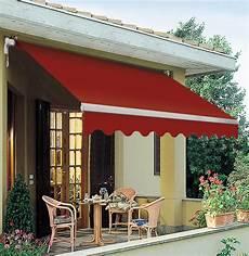 tende da sole ferrara tenda da sole a barra quadra rosso ferrara 295x200 cm lxp
