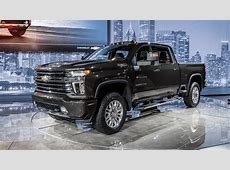 2020 Chevrolet Silverado HD Debuts: Big Time Max Towing