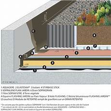 toit terrasse beton soprema toiture terrasse circulable multifonction sur