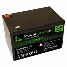 12ah 12v lithium ion battery pack powerbrick