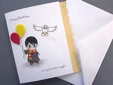 harry potter geburtstagskarte harry inspired birthday card