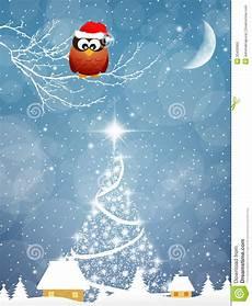 eule am weihnachten stockfoto bild 33430900