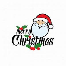 merry christmas santa claus card vector free download
