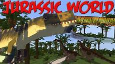 jurassic world minecraft mod 1 7 10