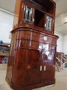 kommode vitrine schmale attraktive original jugendstilvitrine top