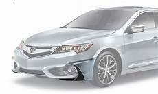2016 2018 acura ilx sedan front unt spoiler nh 788p 08f01