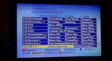Sky Epg Early 2014 9th Feburary 2014