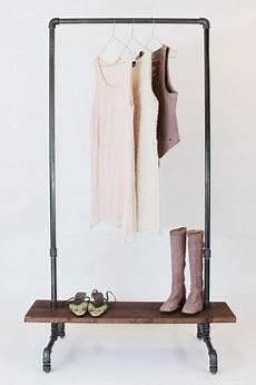 Kleiderstange Aus Rohren - garderobe industriedesign kleiderst 228 nder stahlrohr
