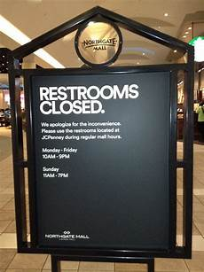 restrooms are closed yelp