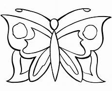 free of butterfly simple in black n white for colouring for kindergarten download free clip