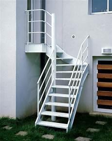 Escalier Ext 233 Rieur 1 4 Tournant Au Look Industriel