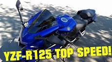 2019 yamaha yzf r125 top speed gps top speed