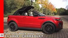 2018 land rover range rover evoque cabriolet