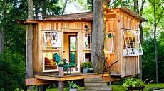 the fox house treehouse tiny house design ideas le tuan home design youtube