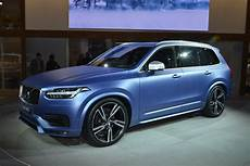Volvo S 2016 Xc90 R Design Makes American Debut In A