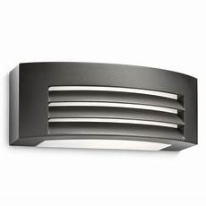 litecraft philips ecomoods fragrance outdoor wall light dark grey debenhams black outdoor