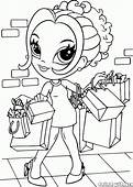 Coloring Page  Quick Shopping