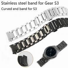 22mm Stainless Steel Band Replacement by 20 22mm Band For Samsung Gear S3 Stainless Steel