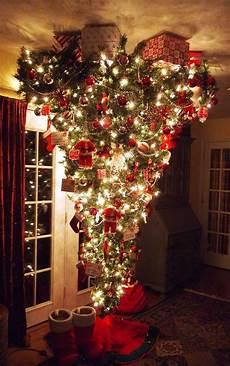 den weihnachtsbaum kopf 252 ber stellen und die deko mal