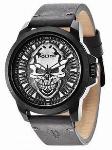 Herrenuhr Armbanduhr Skull Schwarz Uhr
