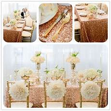 Gold Sparkle Table Cloth Sparkly by 90 Quot 132 Quot Sparkly Gold Rectangle Sequin Tablecloth For