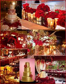 red and gold wedding and event ideas gold wedding
