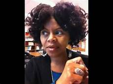 half natural half relaxed hairstyles just afro hair transition phase half relaxed half natural youtube