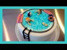 Kuchen Mit Fondant - motivtorte swimming pool schwimmbecken fondant torte